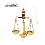 Brass 1:6 scale libra Scales Metal