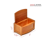 Clearance sale - Oak bedding case for dollhouse miniature 1:12 scale