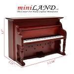 Clearance sale -Piano MH for dollhouse miniature 1:12 scale