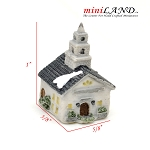 Micro house building for Dollhouse miniature 002
