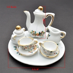 Clearance sale - 1:6 scale 10pcs China Tea Set