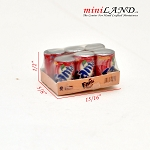 Pack of Panta food soft drink  for Dollhouse miniature 1:12 scale