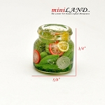 pickles food for Dollhouse miniature 1:12 scale A