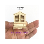 1:48 1/4 quarter scale wooden unfinished Baby dutch dollhouse miniature