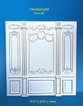 1:6 scale Royal French wall panel Top Quality hand crafted of wood