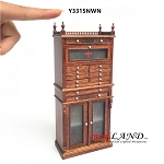 Medical cabinet doctor dentist for 1:12 dollhouse scale