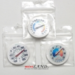 3pcs Assorted circle temperature gauge for 1:12 dollhouse miniature Hand crafted