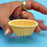 Laundry Baskets dollhouse miniature 1:12