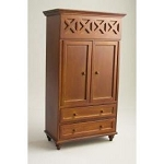 Ashley Spice Armoire  A221 for dollhouse miniature 1:12 scale