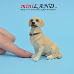 Golden Labrador Dog for Dollhouse miniature 1:12 scale