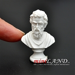 Michelangelo Bust statue figure dollhouse miniature 1:12