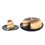 FRUIT CAKE 2pc SET for dollhouse miniature 1:12 scale