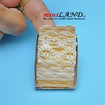 lace trims in various styles dollhouse miniature