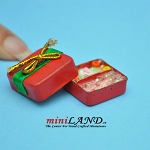 Candy present box  dollhouse miniature
