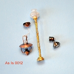 AS IS -  3pcs non-working lights for decorative purposes or for parts 0012
