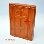 As IS - Manor wall panel  for 1:12  dollhouse miniature 0019