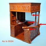 AS IS -  Bar pub (81211) for 1:12  dollhouse miniature 0023