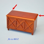 AS IS - bedding case toys box  dollhouse Miniature 1:12  0032