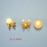 AS IS 0038 - display models 3 lights for dollhouse Miniature 1:12