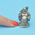 Buddha Statue metal for dollhouse miniatures type B 1.25