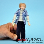 Youth Teenager boy Porcelain doll  5.5