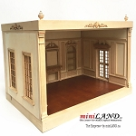THE NEW TALL EMPRESS+ ROOM BOX KIT BY MINILAND UNFINISHED 1:12 scale