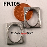 FRAME FR105 unfinished DIY metal miniature for dollhouse - Do it yourself - 2pcs