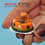 Halloween spider Cake for 1:12 dollhouse miniature food