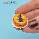Halloween witch Cake for 1:12 dollhouse miniature food