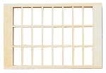 24-Light Window Traditional 5-1/16 H x 3/8 D x 6-3/4 W for 1:12 Dollhouse miniature