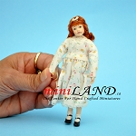 MELISSA - Red-haired adolescent girl 1:12 scale