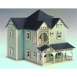 Northeastern Scale 1/144 Fan house kit Dollhouse for Dollhouse