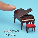 1:48 Scale Piano with stool MH