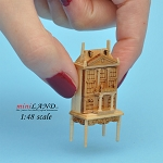 1:48 Scale Dollhouse for dollhouse Pine with table