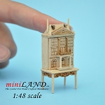 1:48 Scale Dollhouse for dollhouse UNFINISHED with table