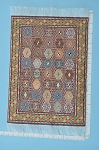 Clearance SALE - Large Turkish Carpet/Rug for dollhouse miniature - 1:12 scale