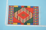 Clearance SALE - Medium Mexican Carpet/Rug for dollhouse miniature - 1:12 scale