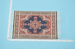 Clearance SALE - Medium Victorian Carpet/Rug for dollhouse miniature - 1:12 scale