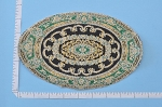 Clearance SALE - Medium - detailed Victorian Carpet/Rug/ Mat for dollhouse miniature - 1:12 scale