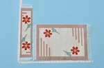 Clearance SALE - Medium 2pcs - art deco - Carpet/Rug/ Mat and Runner for dollhouse miniature - 1:12 scale
