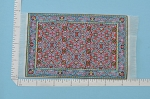 Clearance SALE - Small colorful Carpet/Rug for dollhouse miniature - 1:12 scale
