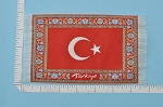 Clearance SALE - Small turkish Carpet/Rug for dollhouse miniature - 1:12 scale