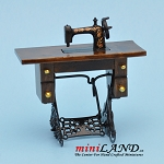 Treadle Sewing Machine WN dollhouse miniature 1:12