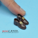 Man Shoes for dollhouse miniature display #22