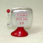 SODA DISPENSER metal for dollhouse miniature 1:12 scale