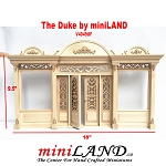 The Duke - Quality wooden store front facade  1:12 scale roombox dollhouse miniature UF