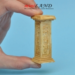 Pedestal French TAN WA1003TN  for dollhouse miniature 1:12 scale