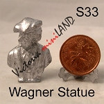 Wagner Statue BUST 1-1/4
