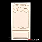 Wide panel - Royal Paneling line White 1:12 scale