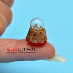 Snow Globe statue figurine dollhouse miniature 1:12